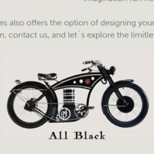 An electric bicycle with the looks of a 1912 Harley Davidson. It cries out for cool and powerful website texts that tempt the reader to test drive this innovative E-Cruizer. In the texts I have tried to capture the feeling of freedom, nostalgia and adventure that the hand-built bicycles of B4 Bikes evoke.